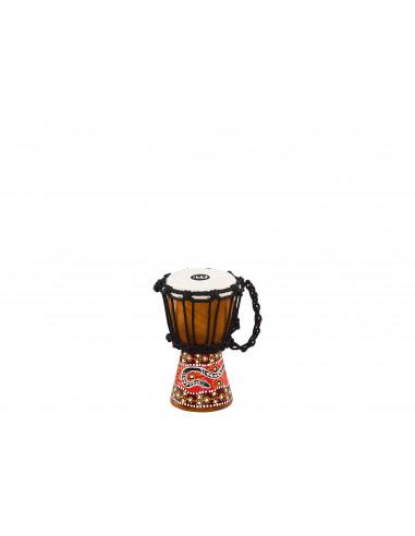 "Meinl - African Style Mini Djembes Phyton design 4 1/2"" x 8"""