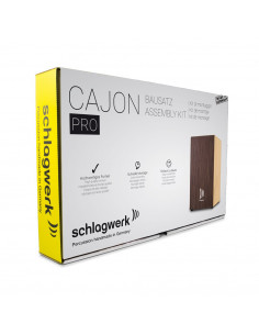 Schlagwerk,Cajon construction kit PRO Wenge