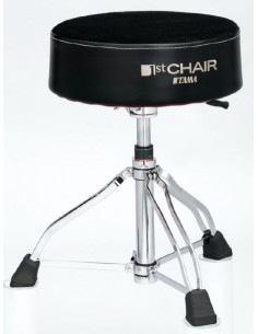 "TAMA - HT850BC  Drum Throne Round Rider XL ""Cloth Top"" seat"