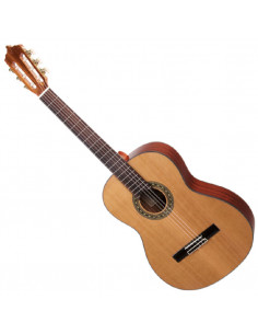 ARTESANO - Guitare classique, Estudiante XC-4/4, Diapason 65cm, Gaucher