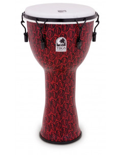 """TOCA - 10"""" Freestyle II Djembe, Mech. Tuned, Red Mask"""
