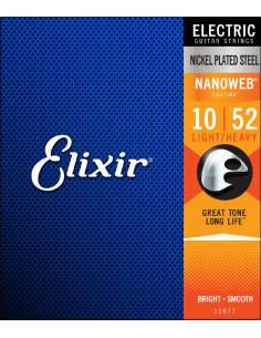 Elixir – Nanoweb Light-Heavy Strings 10-52