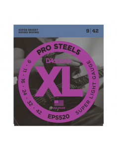 D'Addario,EPS520,Prosteel Super Light 9-42