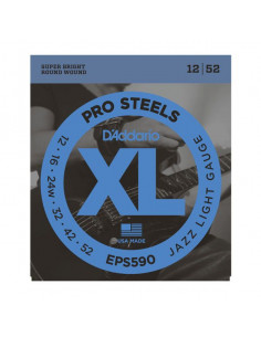 D'Addario,EPS590,Prosteel Jazz Light 12-52