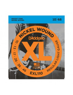 D'Addario,EXL110,Regular Light, 10-46