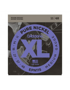 D'Addario,EPN115,Pure Nickel Blues/Jazz Rock 11-48