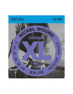 D'addario - EXL115 - EXL Nickel Wound Medium 11-49