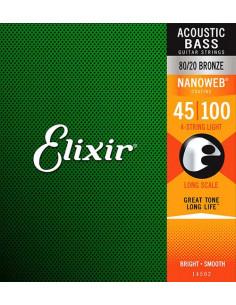 Elixir – 14502 - Nanoweb Light 45-100