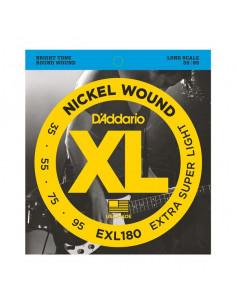D'addario – EXL180 – Nickel Wound Extra Super Light 35-95