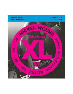 D'addario – EXL170 – Nickel Wound  Light 45-100