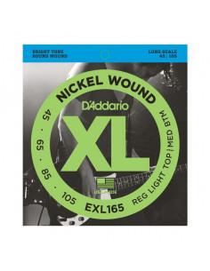 D'addario – EXL165 – Nickel Wound  Custom Light 45-105