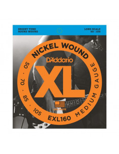 D'addario – EXL160 – Nickel Wound Medium 50-105