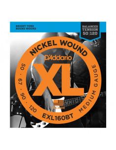 D'addario – EXL160BT – Nickel Wound BT Medium 50-120