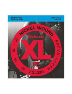 D'addario – EXL230 – Nickel Wound Heavy 55-110