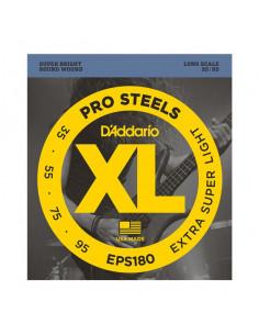D'addario – EPS180 – ProSteels Bass Extra Super Light 35-95