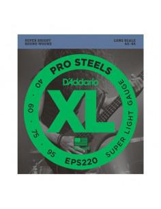 D'addario – EPS220 – ProSteels Bass Super Light 40-95