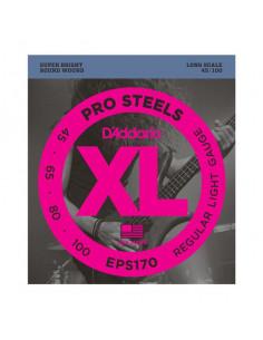 D'addario – EPS170 – ProSteels Bass Light 45-100
