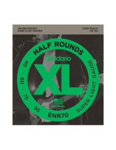 D'addario – ENR70 – Half Rounds Bass Super Light 40-95