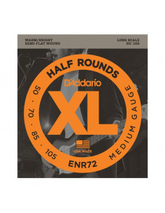 D'addario – ENR72 – Half Rounds Bass Medium 50-105