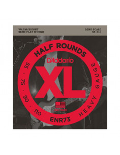 D'addario – ENR73 – Half Rounds Bass Heavy 55-110