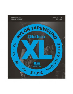 D'addario – ETB92 – TapeWound Bass Medium 50-105