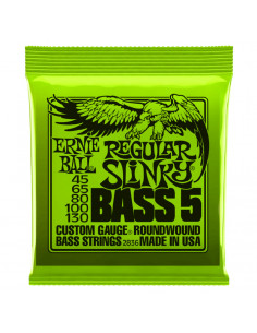 Ernie Ball – 2836 – Regular Slinky 5-Strings 45-130