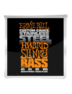 Ernie Ball – 2843 – Stainless Steel Hybrid Slinky 45-105