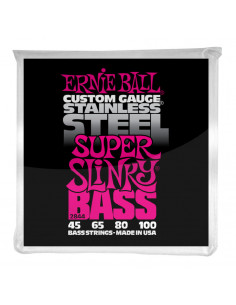 Ernie Ball – 2844 – Stainless Steel Super Slinky 45-100