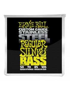 Ernie Ball – 2842 – Stainless Steel Regular Slinky 50-105