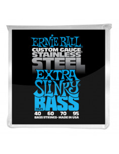 Ernie Ball – 2845 – Stainless Steel Extra Slinky 50-105