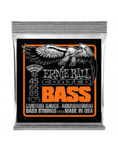 Ernie Ball – 3833 – Coated  Slinky 45-105