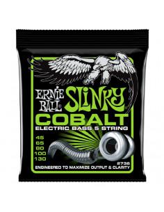 Ernie Ball – 2736 – Cobalt Slinky 5-Strings 45-130