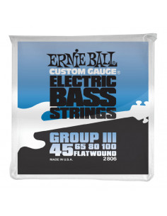 Ernie Ball – 2806 – Flatwound Group III 45-100