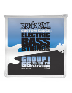 Ernie Ball – 2802 – Flatwound Group I 55-110