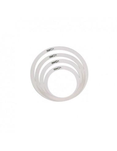 """Remo - Rem-O-Ring Set, 4 Pieces 1x10"""", 1x12"""" + 2x14"""", For Tom/ Snare/ Floortom"""