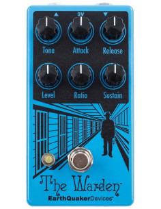 Earthquaker Devices – Warden V2 Optical Compressor