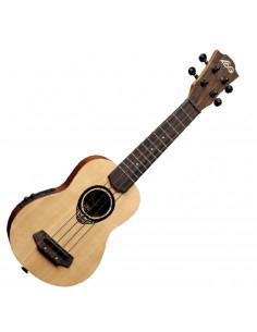 LAG - BabyTKU150SE Tiki Uku Baby-Soprano acoustic electric