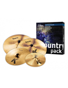 Zildjian,Cymbal set K,Country Pack,15H/17+19Cr/20CrR
