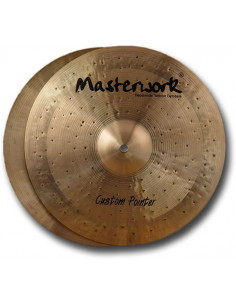 "Masterwork,Custom Pointer Series Cymbal 15"" Hihat"