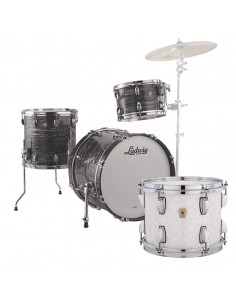 Ludwig - L84023AX0P - Classic Maple Downbeat Standard Wrap White Marine Pearl