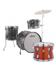 Ludwig - L84023AX2F - Classic Maple Downbeat Standard Wrap Orange Glitter