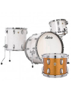 Ludwig - L84433AX33WC - Classic Maple Pro Beat  Standard Wrap Gold Sparkle