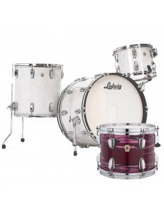 Ludwig - L84433AX81WC - Classic Maple Pro Beat  Standard Wrap Ruby Strata