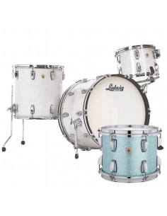 Ludwig - L84433AXT8WC - Classic Maple Pro Beat  Standard Wrap Turquoise Glitter