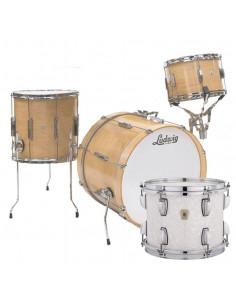 Ludwig - L6103LX0P - Club Date Downbeat Standard Wrap White Marine Pearl
