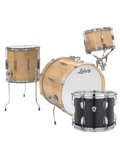 Ludwig - L6103LX0R - Club Date Downbeat Standard Wrap Black Sparkle