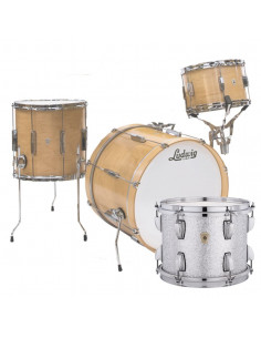 Ludwig - L6103LX0S - Club Date Downbeat Standard Wrap Silver Sparkle