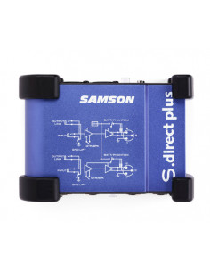 Samson - Sdirect Plus Di Active 48v/Pile 2 Canaux