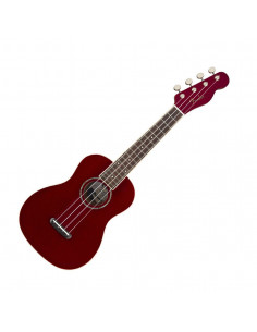 FENDER - Zuma Classic Concert Uke, Walnut Fingerboard, Candy Apple Red
