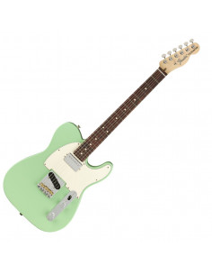 Fender - American Performer Tele with Humbucking RW Satin Surf Green